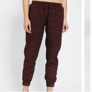 Sparkle&Fade By Urban Outfitters Acid Wash Joggers